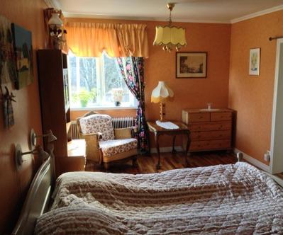 VIP-sovrum. Ofta reserverat för 60-, 70- o 75-årsjublilaren.
