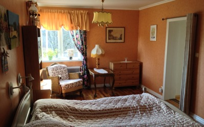 VIP-sovrummet på Villa Lowar.