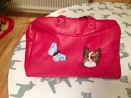 Handväska - Handväska i äkta skinn