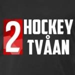 HockeyTvaaan-T-shirt-Svart