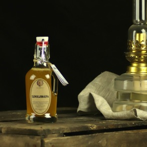 Gotländsk koncentrerad Linoljesåpa glasflaska - Linoljesåpa glasflaska 200 ml