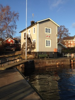 Vandrarhemmet Lotshuset på Dalarö