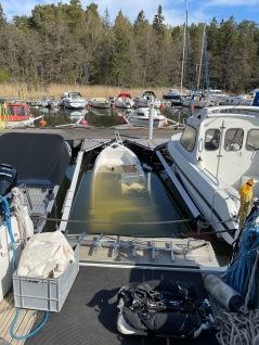 Styrpulpetbåt som sjunkit, snart på varv för reparation