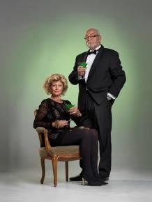 Gull-Britt och Sture Fjunhage (Eva Svensson och Lennart Jonsson)