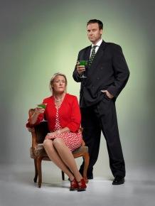 Maj och Henry Ekstrand (Kerstin Spångfors och Mathias Svensson)