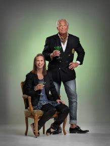Sussie (Linda Lundell) och Pierre Falk (Kenneth Backhausen)