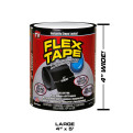 Flex Tejp - Flex Tejp, Svart 101x1520mm