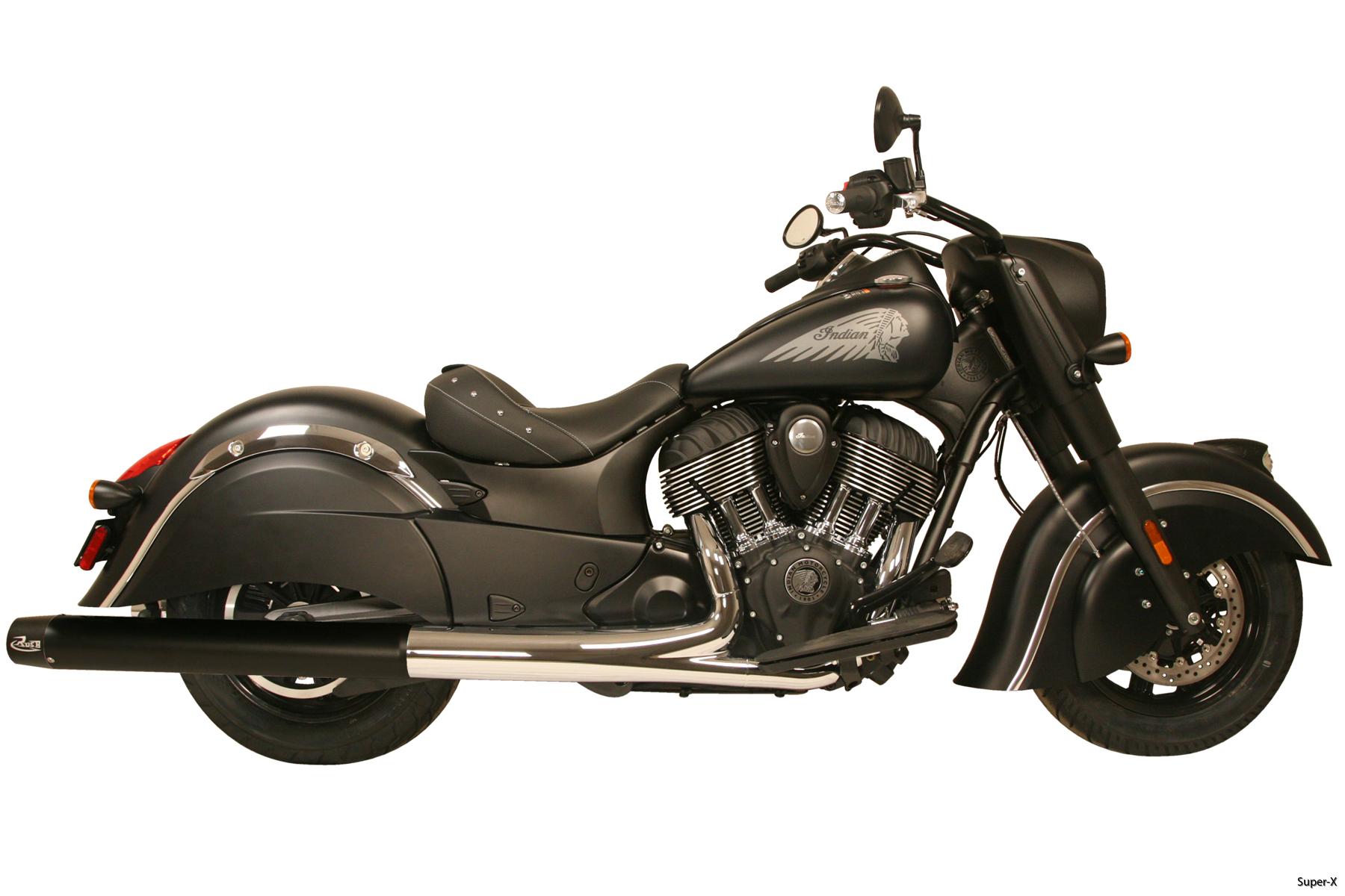 2015 Dark Horse black mufflers