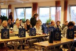 Agria sponsrade både med föreläsningslokal och fika