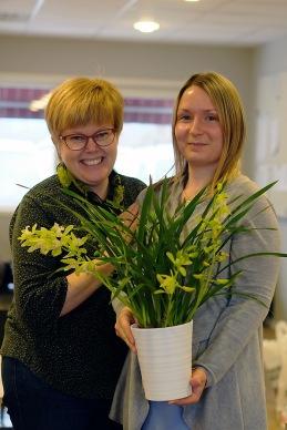 Jessica Pettersson avtackas efter sitt arbete inom VRKs styrelse