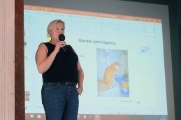 Helgen avslutades med en föreläsning om tarmparasiter med Cecilia Alsmark.