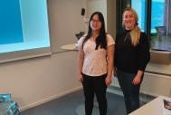 Isabelle och Linnea