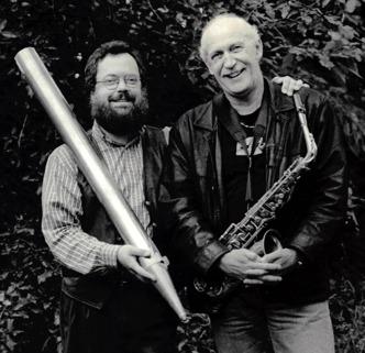 Johannes Landgren och Håkan Lewin 1998.