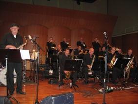 Konsert med Sandviken Big Band på Artisten i Göteborg
