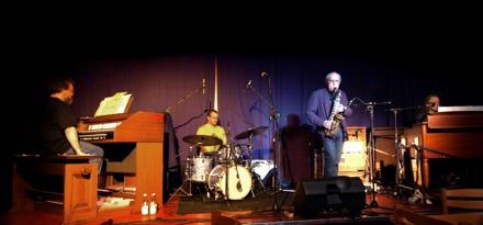 Konsert på Bollnäs Jazzklubb.