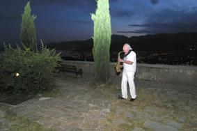 "Prelude to the concert in Rijeka. Håkan plays Thad Jones' ballad ""A Child is Born""."