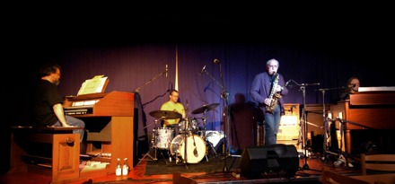 Concert at the jazz club in Bollnäs, Sweden