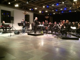 "Concert with Gothenburg Wind Orchestra in ""Kronhuset"" Gothenburg, Sweden in 2016."
