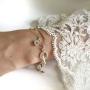 Armband silverlänk