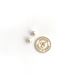 ÖRHÄNGE pärla vit - Örhänge