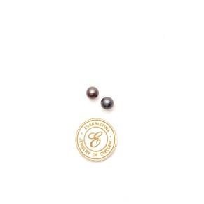 Örhänge pärla blålila - Örhänge