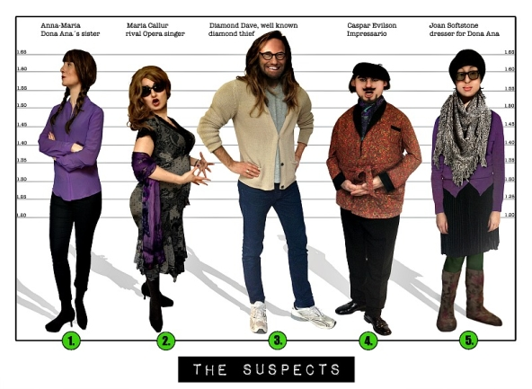 Spy party - The suspects mission 1.