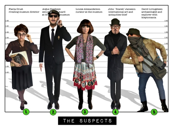 Spy Party - The suspects Spy:Co Mission 2.