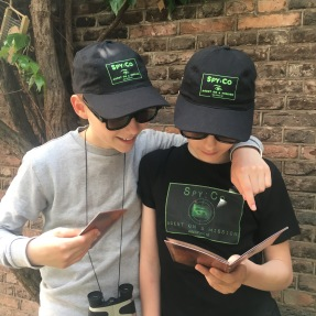 Spy party missions in Oxfordshire - Our Spy:Co agents!