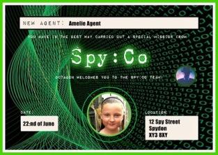 Personalised Spy Diploma