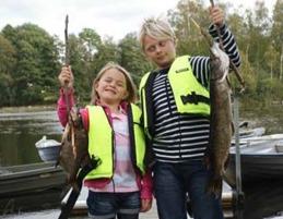 barn fiskar