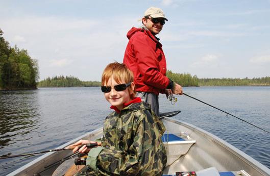 båt och fiske