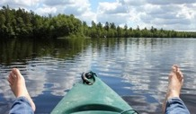 canoe kayak lake sweden