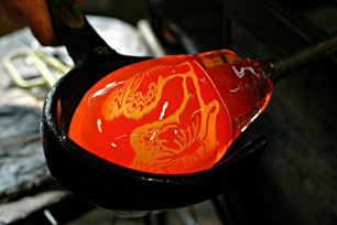 Glasswork artists sweden