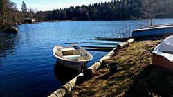Rental boat lake Sweden