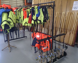 rental fishing equipment