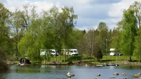 motorhome camping sweden
