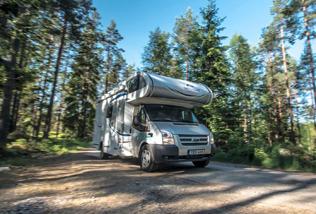 Motorhome caravan sweden