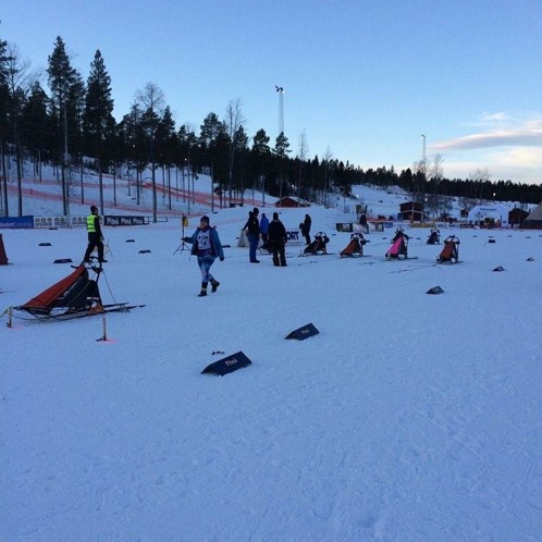 Första 4-spanns tävlingen SM-veckan i Piteå