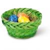Påskkorg, olika färger - Påskkorg grön