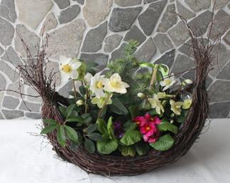 Planteringskorg gondol - Planteringskorg