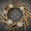 Stjärnkrans i trä