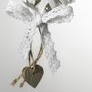Hjärta i Chipwood white washed