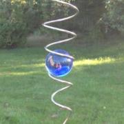 Spiral, blå