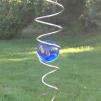 Spiral, blå, 3 storlekar - Storlek 1