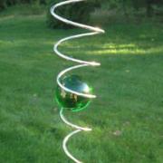 Spiral, grön, 3 storlekar