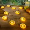 LED ljusslinga Apelsin/Citron - Citroner