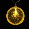 LED ljusslinga Apelsin/Citron
