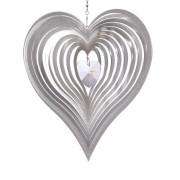 Kurvigt hjärta med kristallhjärta