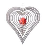 Kurvigt hjärta 35 mm kula