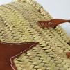 Palmflätat väska